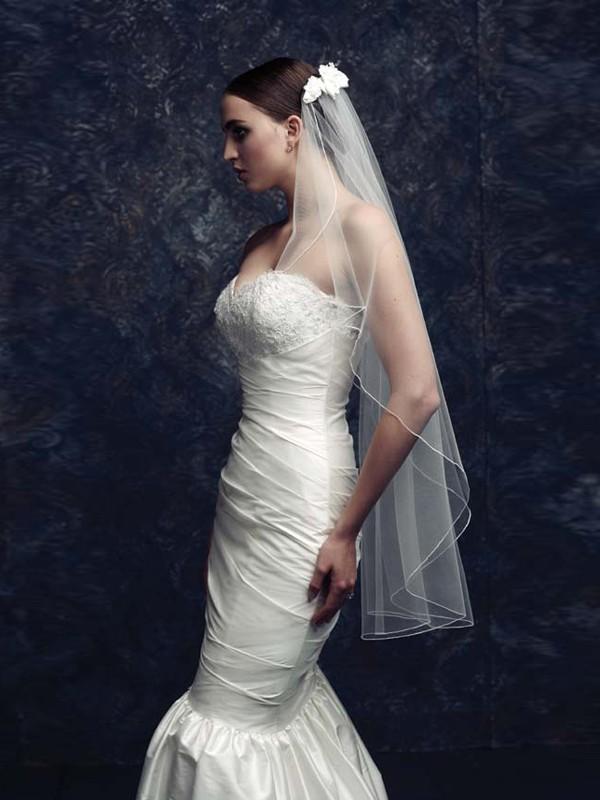 Gorgeous Flower Tüll Wedding Veils