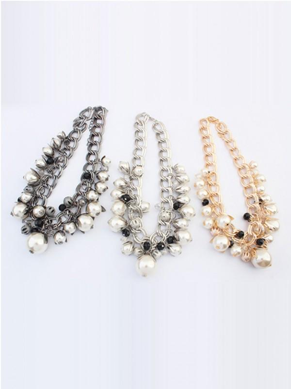 Occident Stylish Perlen Exquisite Hot Sale Halskette