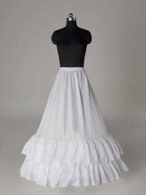 Nice Nylon A-Linie/Princess-Linie  1 Tier Bodenlang Slip Style/Wedding Jupons