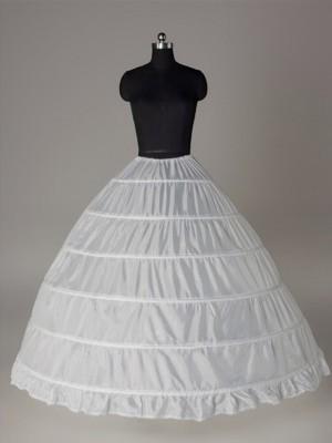Nylon Duchesse-Linie 1 Tier Bodenlang Slip Style/Wedding Jupons