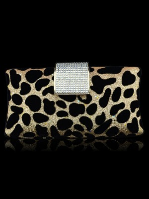 Leopard Print Evening/Cocktail Handtaschen