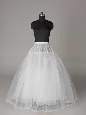 Tüll Netzting Duchesse-Linie 3 Tier Bodenlang Slip Style/Wedding Jupons